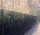 Clôture noire Nylofor