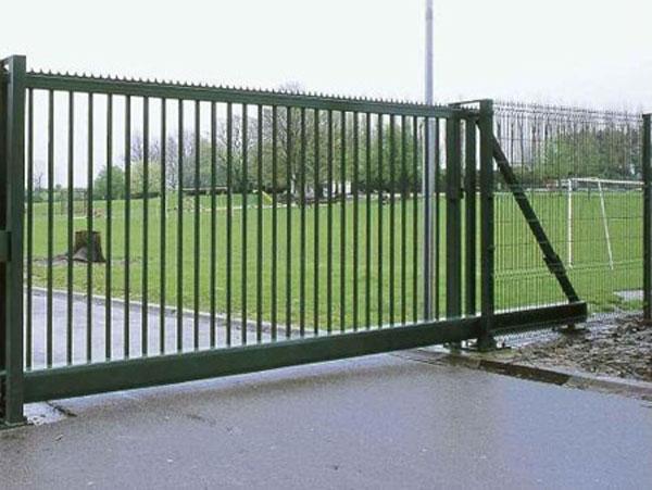 Ragoen portails portails industriels for Barriere de jardin belgique